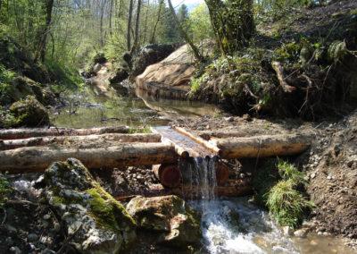 Seuil de ruisseau
